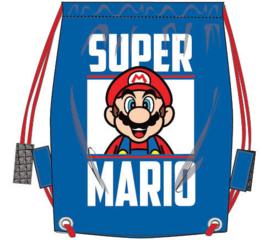 Super Mario Bros gym- zwemtas 36 x 31 cm.