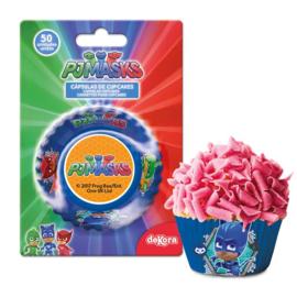 PJ Masks cupcake vormpjes 50 st.