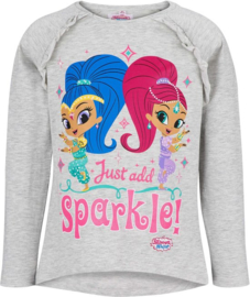 Shimmer and Shine longsleeve grijs mt. 92