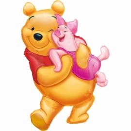 Disney Winnie de Poeh en Knorretje folieballon XL