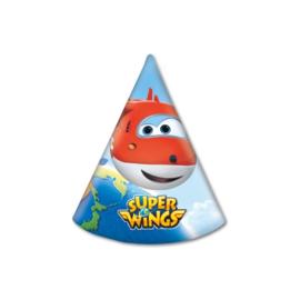 Super Wings feesthoedjes 6 st.