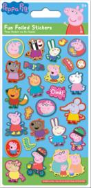 Peppa Pig herbruikbare stickers A