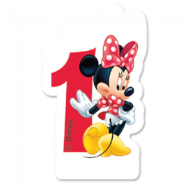 Disney Minnie Mouse 1e verjaardag kaars