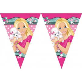 Barbie vlaggenlijn 2,3 mtr.
