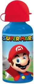Super Mario Bros drinkfles aluminium 400 ml.