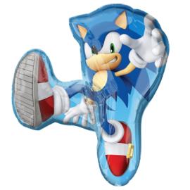 Sonic The Hedgehog folieballon XL 71 x 83 cm.
