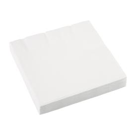Witte servetten 33 x 33 cm. 20 st.
