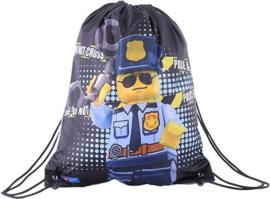 Lego City Politie gym- zwemtas 42 x 34 cm.