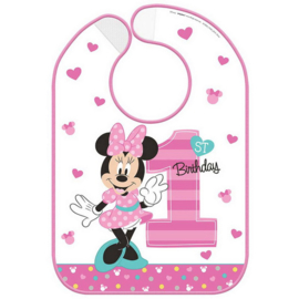 Disney Minnie Mouse 1e verjaardag slab