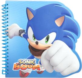 Sonic The Hedgehog notitieboekje