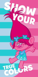 Trolls Show Your True Colors bad handdoek 70 x 140 cm.