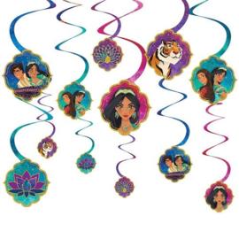 Disney Aladdin draaislingers 12 st.