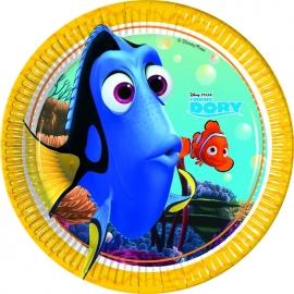 Disney Finding Dory gebakbordjes ø 20 cm. 8 st.