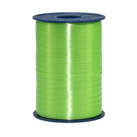 Ballon krullint lime groen 500 mtr. x 5 mm.