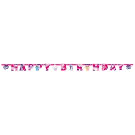 My Little Pony slinger happy birthday 2,37 mtr.
