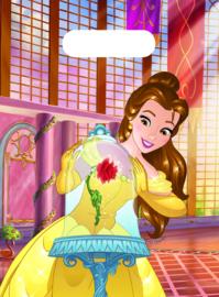 Disney Belle en het Beest traktatiezakjes 6 st.