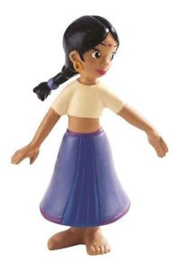 Disney Jungle Book Shanti taart topper decoratie 7,5 cm.
