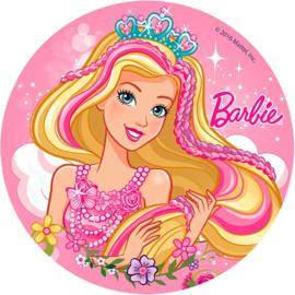 Barbie taart en cupcake decoratie