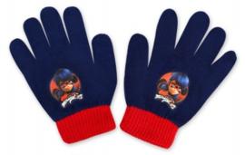 Ladybug handschoenen blauw