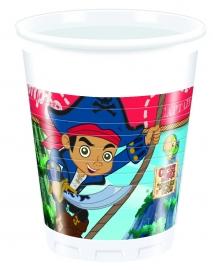 Disney Captain Jake bekertjes 20 cl. 8 st.