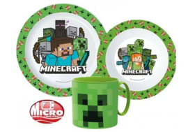 Minecraft 3-delige kinderservies set A