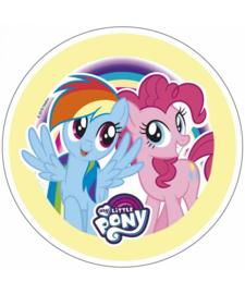 My Little Pony ouwel taart decoratie ø 21 cm. C