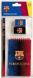 FC Barcelona schoolset 4-delig