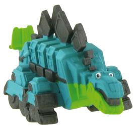 Dinotrux Garby taart topper decoratie 4,5 cm.
