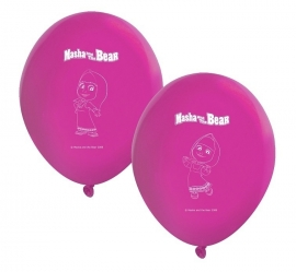Masha and the Bear ballonnen 8 st.
