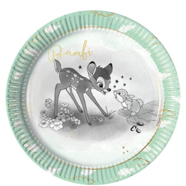 Disney Bambi bordjes ø 23 cm. 8 st.