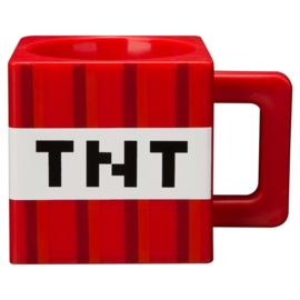 Minecraft TNT kunststof mok 290 ml.