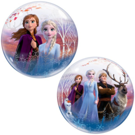 Disney Frozen 2 bubble ballon ø 56 cm.