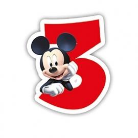 Disney Mickey Mouse 3e verjaardags kaars