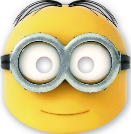 Lovely Minions maskers 6 st.