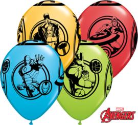 Marvel's Avengers ballonnen ø 28 cm. 6 st.