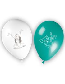 Disney Vaiana ballonnen ø 28 cm. 8 st.