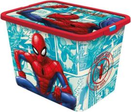 Spiderman opbergbox 23 ltr.