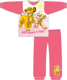 Disney The Lion King pyjama roze-fuchsia mt. 92