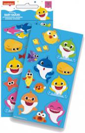 Baby Shark foam stickervel B per stuk