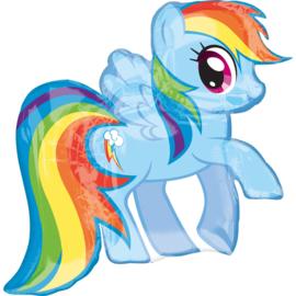 My Little Pony folieballon Rainbow Dash 71 x 68 cm.