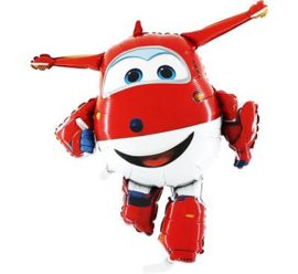 Super Wings folieballon Jett 80 cm.