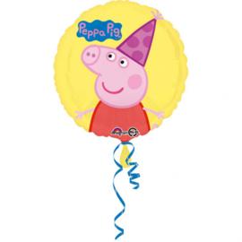 Peppa Pig party folieballon ø 43 cm.