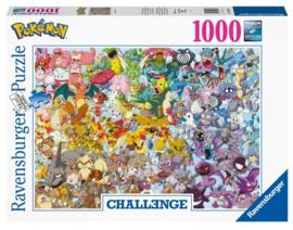 Pokémon puzzel Chalenge 1000 stukjes