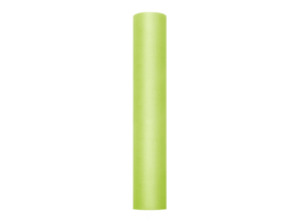 Tule lime groen 30 cm. x 9 mtr.