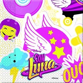 Disney Soy Luna servetten 33 x 33 cm. 20 st.