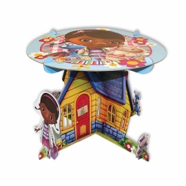 Disney Doc McStuffins taartstandaard ø 25 cm.