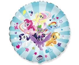 My Little Pony folieballon Team ø 45 cm.