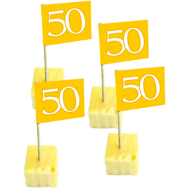 Gouden prikkertjes 50 jaar 50 st.