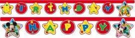 Disney Mickey Mouse Clubhouse happy birthday slinger 2,1 mtr.