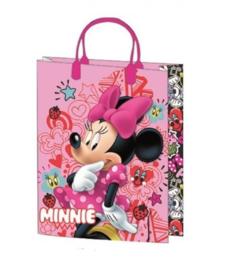 Disney Minnie Mouse luxe cadeau tasje 25 x 18,5 x 8 cm.